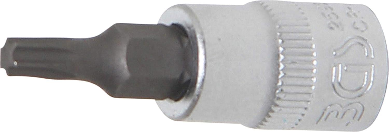 T35 1//4 entrada 6,3 mm para Torx Punta de vaso | perfil en T BGS 2565