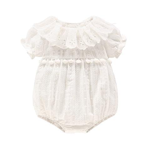 Mameluco Bebé Niña - Bebé Peleles Algodón Mameluco Bebé Niñas Monos Bebé Body Manga Corta Trajes