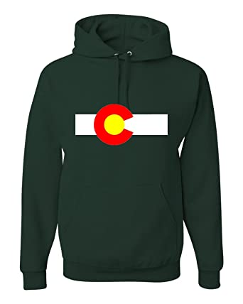 8688d663aefc Amazon.com  Go All Out Adult Colorado State Flag Sweatshirt Hoodie  Clothing