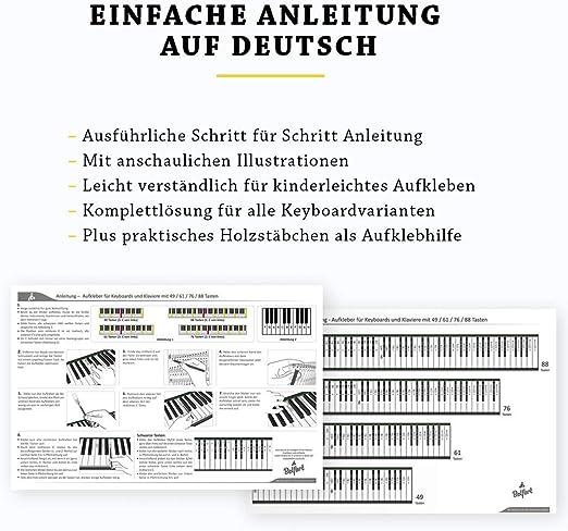 Piano + Keyboard Notas de piano + Gratis eBook   Premium para 49 ...