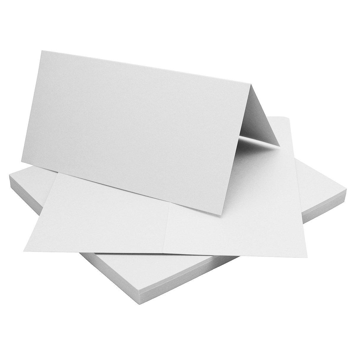 700 Faltkarten Din Lang - Hellgrau - Premium Qualität - 10,5 x 21 cm - Sehr formstabil - für Drucker Geeignet  - Qualitätsmarke  NEUSER FarbenFroh B07FKP91BZ | Hochwertige Materialien