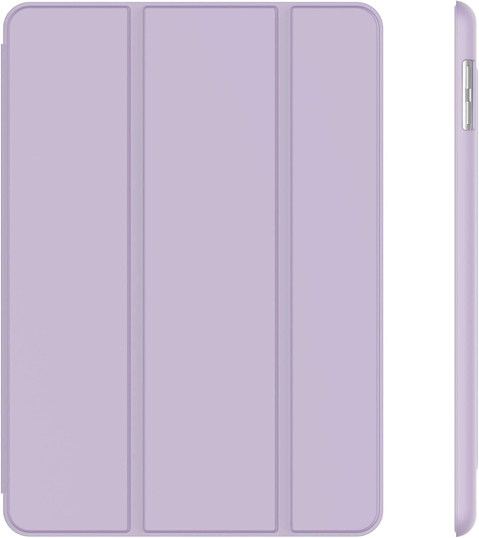 JETech Case for iPad (9.7-Inch, 2018/2017 Model, 6th/5th Generation), Smart Cover Auto Wake/Sleep, Light Purple