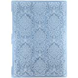 Kwan Crafts A4 Size Leaves Flowers Plastic Embossing Folders for Card Making Scrapbooking and Other Paper Crafts 29.7x21cm