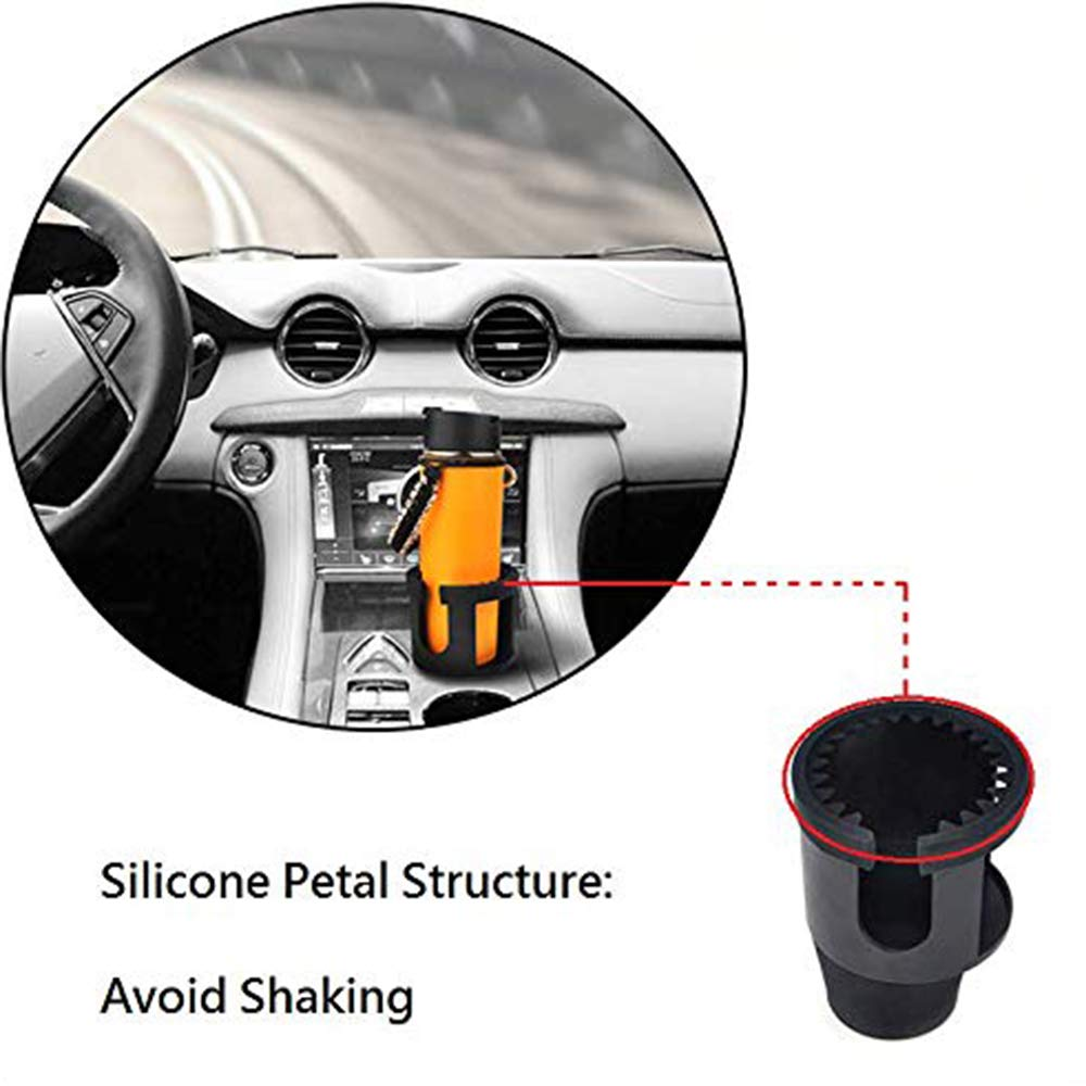 Issyzone Coffee Cup Holder Drinks Holder Large Adapter Cars Water Bottle Holder Drink Holder for Car UKIPOUN015
