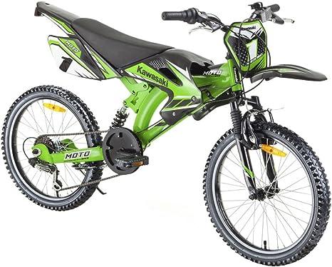 taille 40 les mieux notés dernier sélectionner pour plus récent Vélo pour enfant Kawasaki tensoi Moto Bike Cross 20 ...