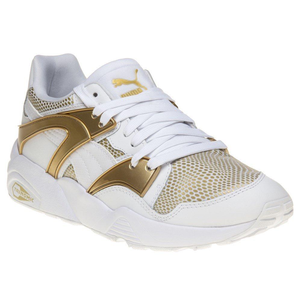 Puma Damen Blaze Gold Low-Top  * White gold