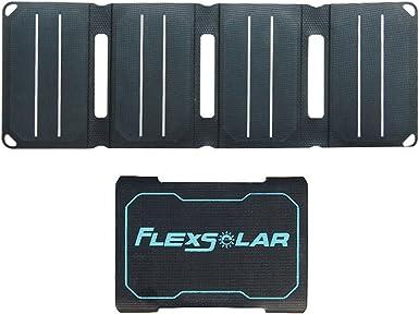 flexsolar bolsillo de 6,4 W reinicio automático plegable USB Panel ...