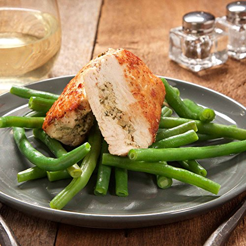 Stuffed Chicken Breast with Lemon-Artichoke Pesto by Chef'd Partner Keri Glassman (Dinner for 2) (Same Day Delivery Food)