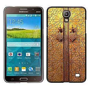 Samsung Galaxy Mega 2 / SM-G750F / G7508 Único Patrón Plástico Duro Fundas Cover Cubre Hard Case Cover - Metal Door Window Engineering