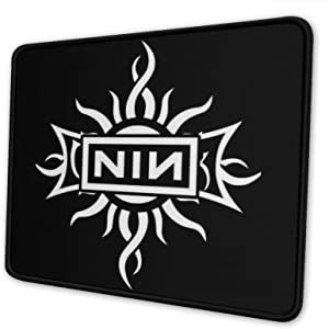 Ni-Ne in-Ch Na-Ils Mouse Pad Laptop Gaming Home Office Computer Accessories Personalized Rectangle Anti-Slip Rubber