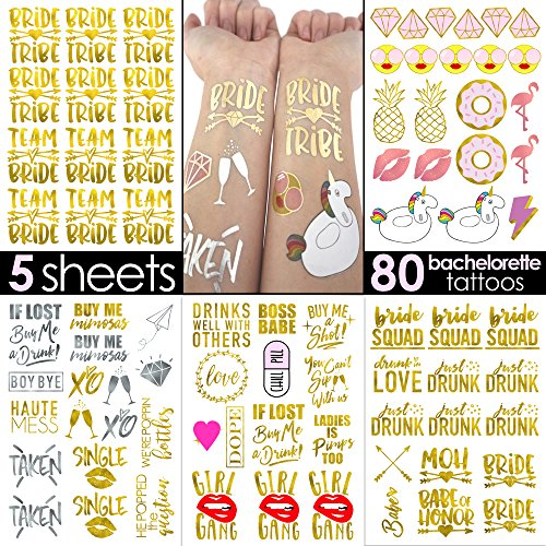 Bachelorette Tattoos bachelorette tattoos bridesmaid product image