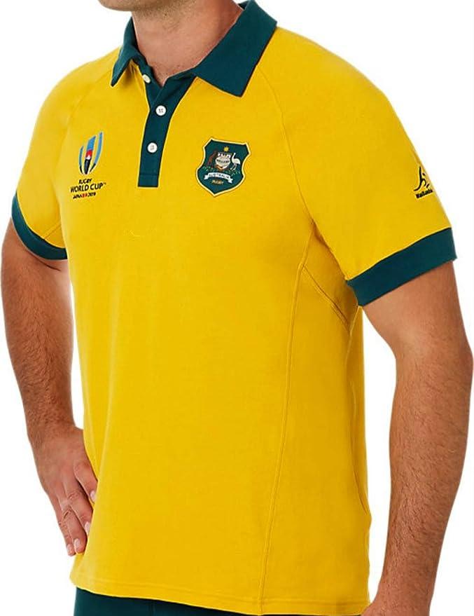 Equipo Australia, Polo De La Copa Mundial De Rugby, Camiseta, Tela ...