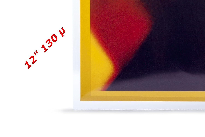 xi-media /® LP Vinyl PE 80/µ 12 Au/ßenh/üllen 10 St/ück Schutzh/üllen Schallplatten