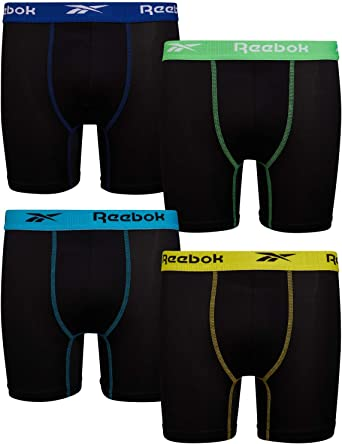 Exclusive, Starter Boys 4-Pack Stretch Performance Cotton Boxer Brief