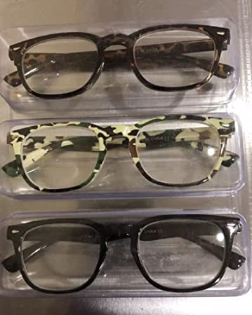 67ae13a7d43 Image Unavailable. Image not available for. Color  Steve Madden Camo Reading  Glasses 3 Pack Readers +2.50 Strength