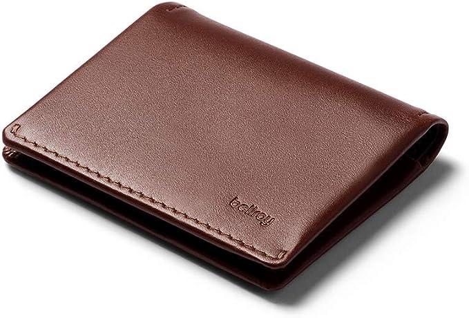 56 opinioni per Bellroy Slim Sleeve, portafoglio sottile in pelle (max. 12 carte e banconote)-