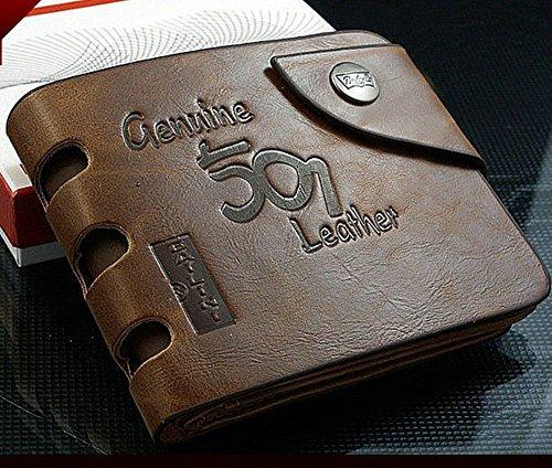 Fashion Genuine Leather Bifold Wallet