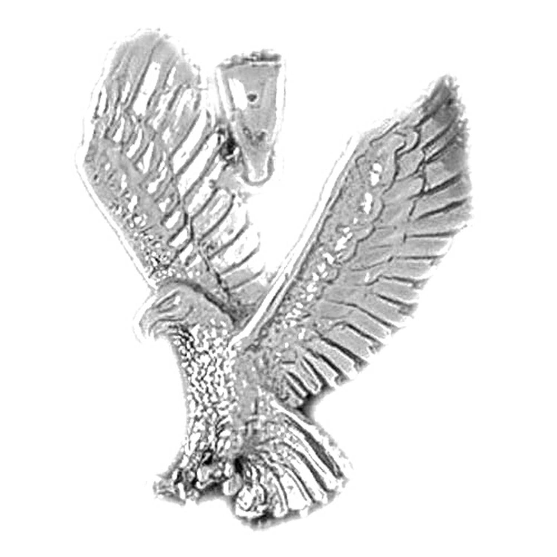 amazon silver eagle pendant 25 mm jewelry Star Trek Klingon Ships