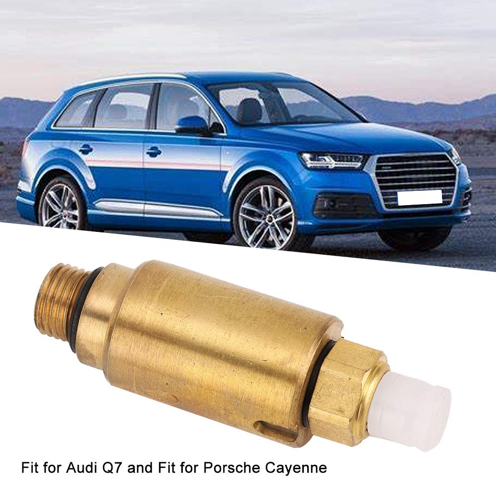 Car Air Suspension Spring Valve,2pcs Shocks Struts Damper Air Suspension Residual Pressure Valve Fit for Q7 7L0616813