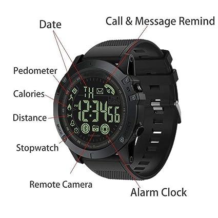 Reloj Digital Deportivo Inteligente de Grado Militar ...