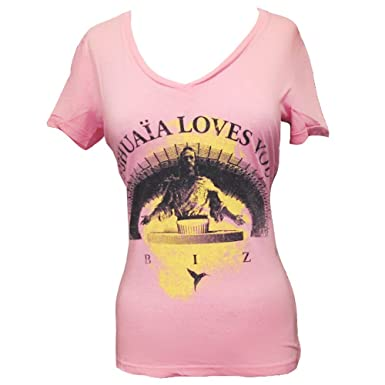 Ushuaia Ibiza: Camiseta Mujer Jesus - Rosa Coral, XS - Extra ...