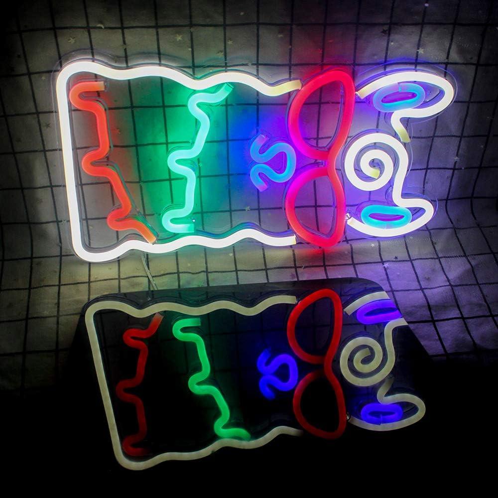 Alpaka Neonlicht LED Neonzeichen Weihnachten Wandleuchten f/ür Schlafzimmer Dekoration Lounge B/üro Hochzeit Bar Valentinstag Party Betrieben von USB Alpaka Nachtlichter 15,7  /× 8,7