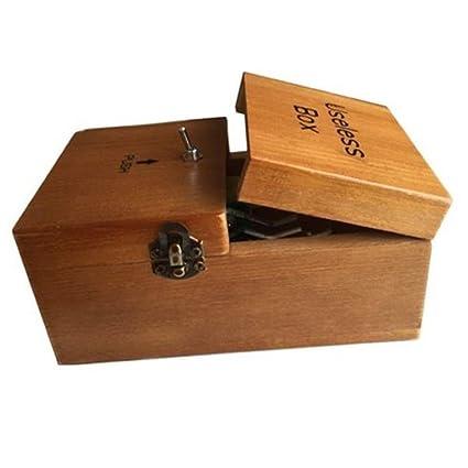 Useless Box Turns Itself Off Storage Box