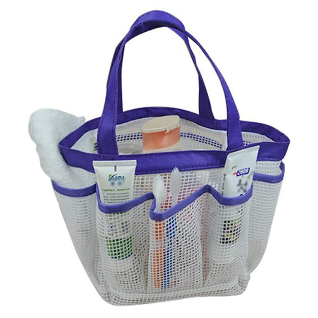 Amazon.com: JQHLJXZL - Cesta de baño de malla, bolsa de baño ...