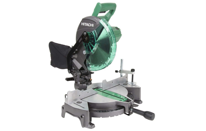 Hitachi c10fcg 15 amp 10 single bevel compound miter saw amazon greentooth Gallery