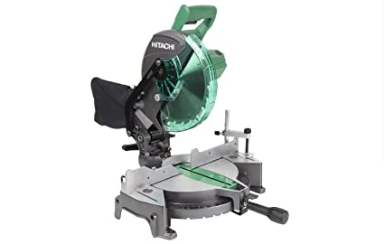 Hitachi c10fcg 15 amp 10 single bevel compound miter saw amazon hitachi c10fcg 15 amp 10quot single bevel compound miter saw greentooth Image collections