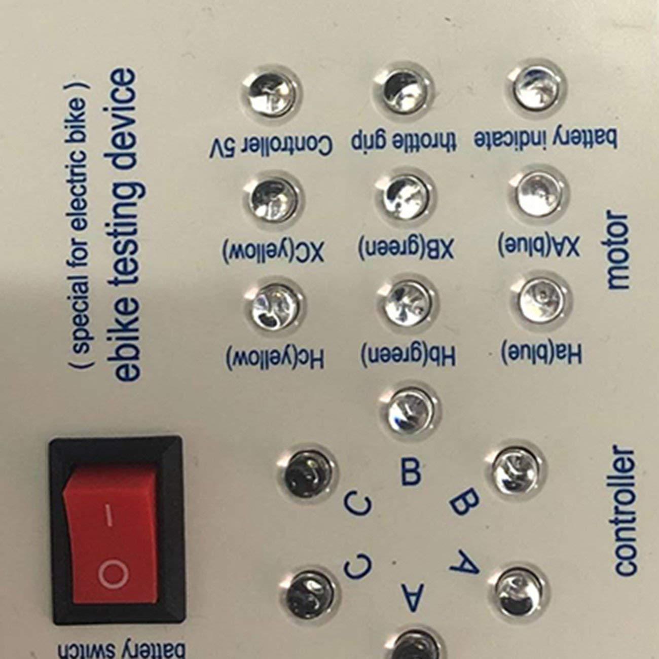 1pc 24V//36V//48V//60V//72V Electro Car E-Bike Scooter Brushless Motor Controller Tester Electronic Module High Performance