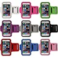 DZT1968® iPhone 6 Armband,Gym Running Sports Arm Band Case Cover