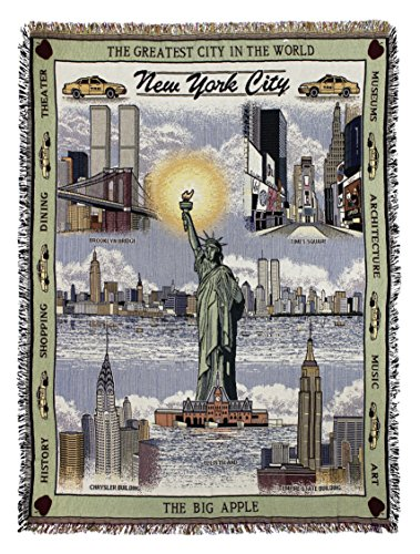 New York Yankees Tapestry Throw - Simply New York City Tapestry Throw