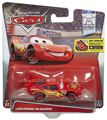 amazon com disney pixar cars lightning mcqueen vehicle toys games