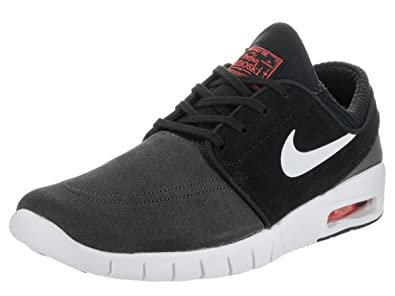 fcd46950bc Nike Men's Stefan Janoski Max L Anthracite/Pure Platinum Black Skate Shoe  12 Men US: Buy Online at Low Prices in India - Amazon.in