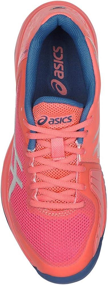 Asics Damen Gel-Court Speed Schuhe Papaya/Silver