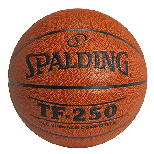 Spalding TF250 Men's 29-1/2 inches Official Basketball, Orange by Spalding