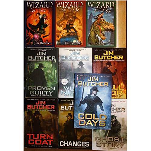 Wizard Under Fire, Jim Butcher (Hardbound, 2007) Proven Guilty and White Night