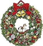 Festlicher Weihnachtskranz (Adventskalender);Adventskalender