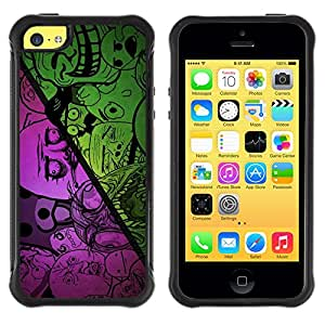 SHIMIN CAO@ cool funny internet meme troll sad no why bear face Rugged Hybrid Armor Slim Protection Case Cover Shell For iphone 5C CASE Cover ,iphone 5C case,iphone5C cover ,Cases for iphone 5C