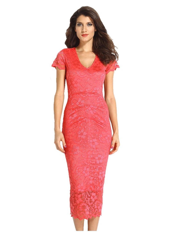 E-Girl FOB6621 women Midi Dress