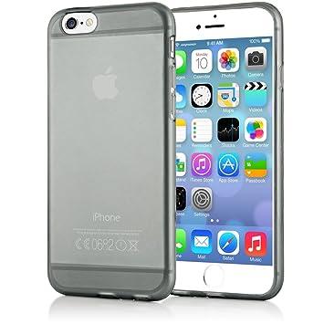 NALIA Funda Compatible con iPhone 6 6S, Ultra-Fina Protectora Movil Carcasa Transparente Silicona Gel Bumper Estuche, Goma Cubierta Delgado Clear ...