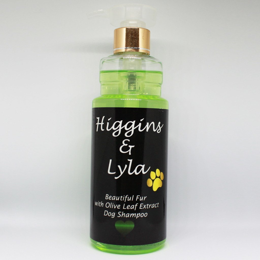 Superbe fourrure Olive Leaf Extract Shampoing pour chien Higgins & Lyla