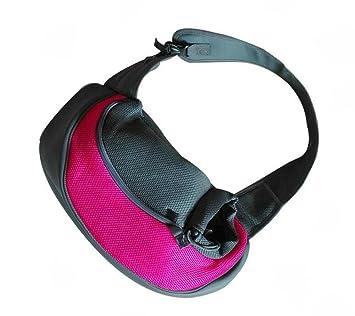 cosanter Single de hombro Mochila para perros gatos Caja de transporte bolsa de transporte M: Amazon.es: Productos para mascotas