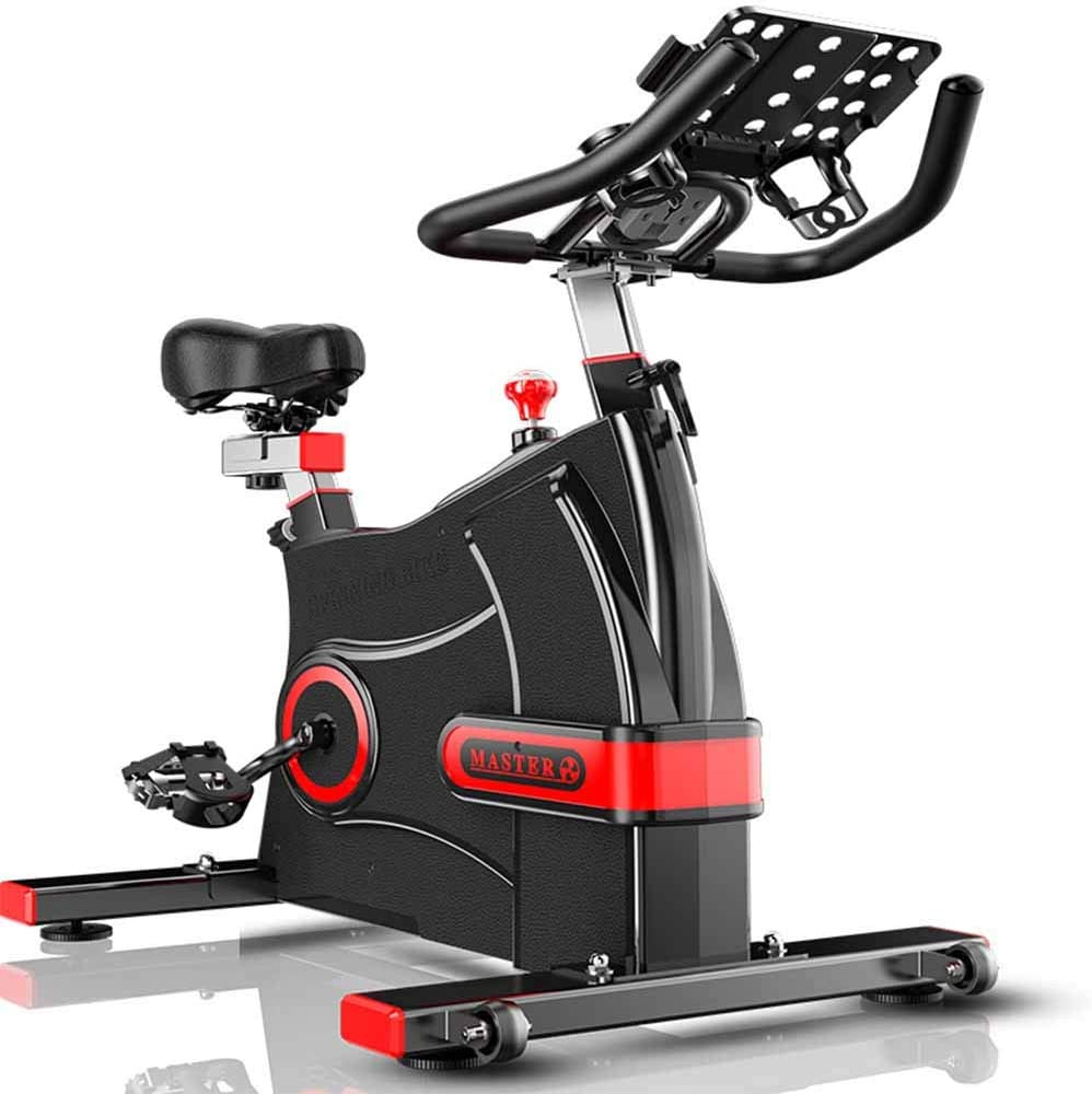 Qys Spinning Bicicleta Ejercicio Bicicleta Mute Interior Equipo de ...