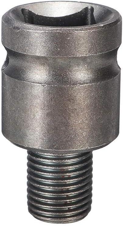 LHQ-HQ Drill, 10pcs Air Impact Socket Wrench Adapter Set 1//2 Inch Square Drive Metric Drill Chuck Adapter