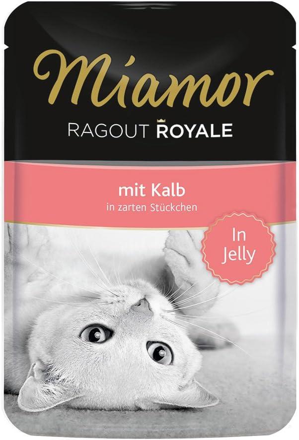 Miamor Ragout Royale - Becerro, 22 Unidades (22 x 100 g)