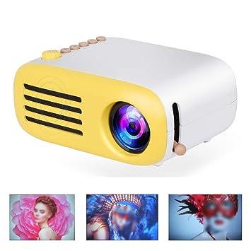 WAOBE Proyector portátil, Mini proyector Multimedia de Cine en ...