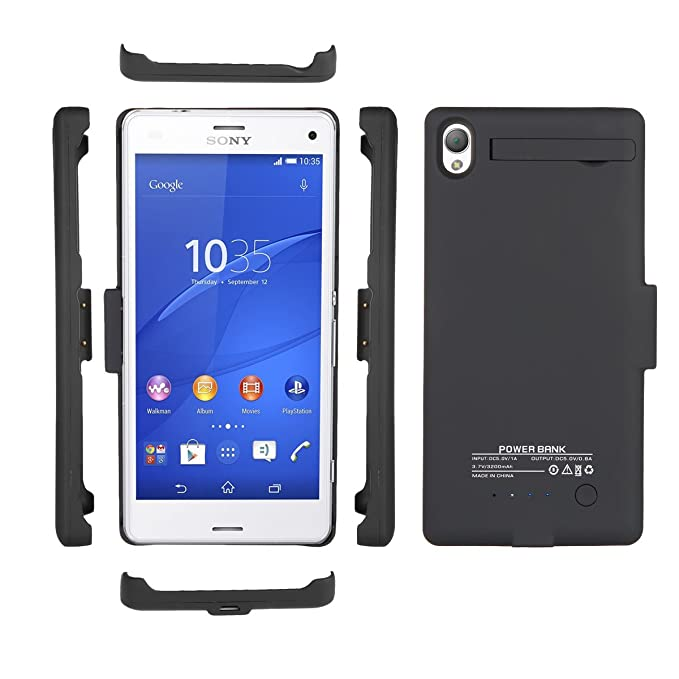 buy online e6bd0 47aa1 Amazon.com: Case for Sony Xperia Z3 [Rechargeable], BasicStock ...