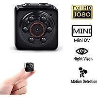 Pannovo 1080p Mini Spy Camera with Infrared Night Vision